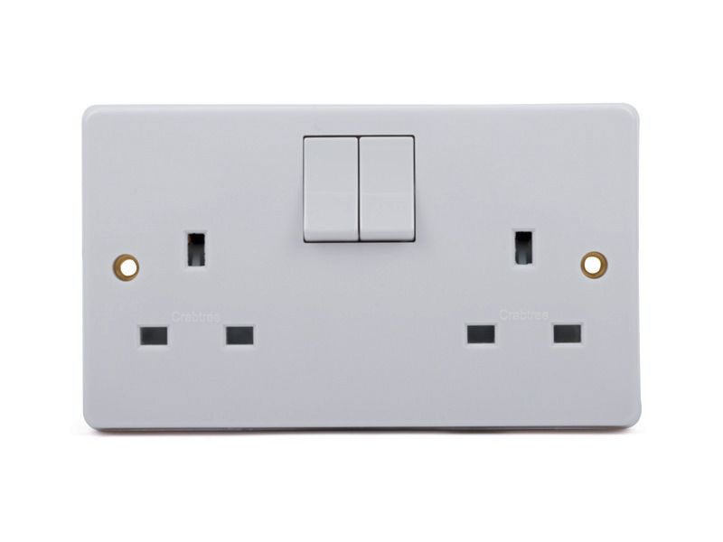 Double Wall Socket Voice Activated Recorder