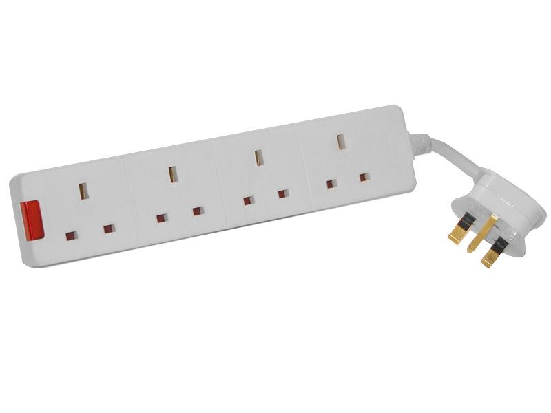 GSM 4 Gang Extension Lead