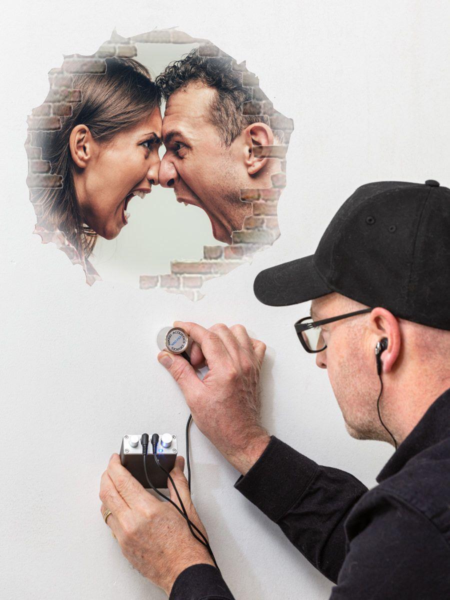 Listen Through Wall Device
