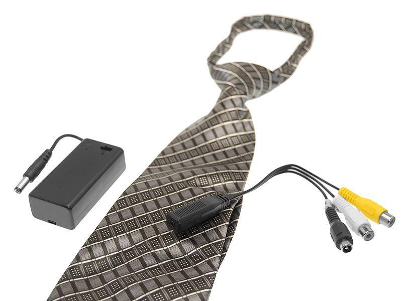 Spy Camera Tie