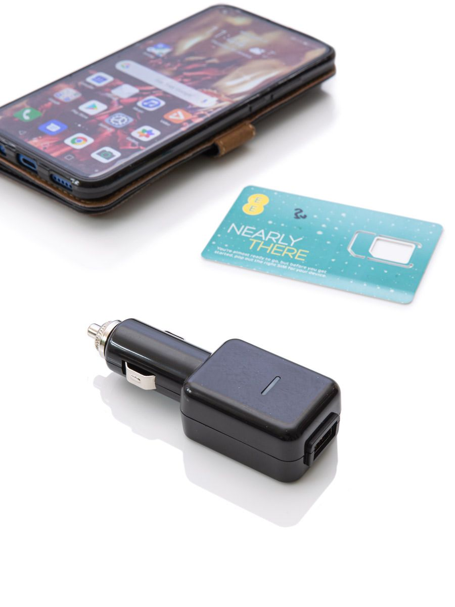 USB Car Charger With GSM Listening