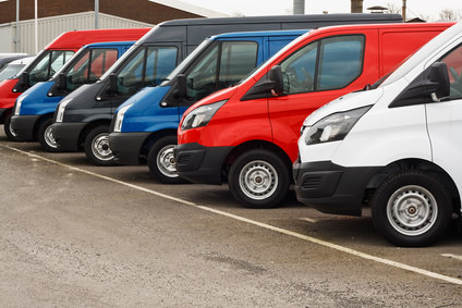 Fitting GPS trackers in a fleet of commercial vans