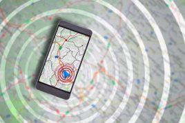 Smartphone tracker