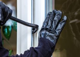 Burglar Forcing Entry